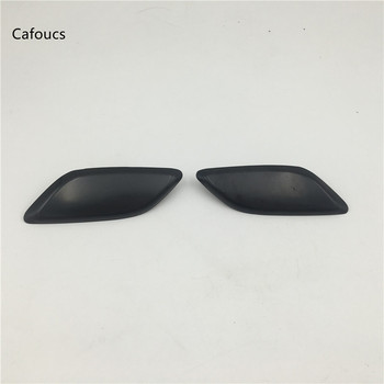 Cafoucs Headlight Headlamp Washer Nozzle Jet Cover For Mazda 6 M6 GH 2008 2009 2010 Decoration Cap image