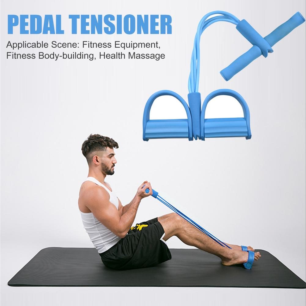 Multi Function Tension Fitness Resistance Bands 8