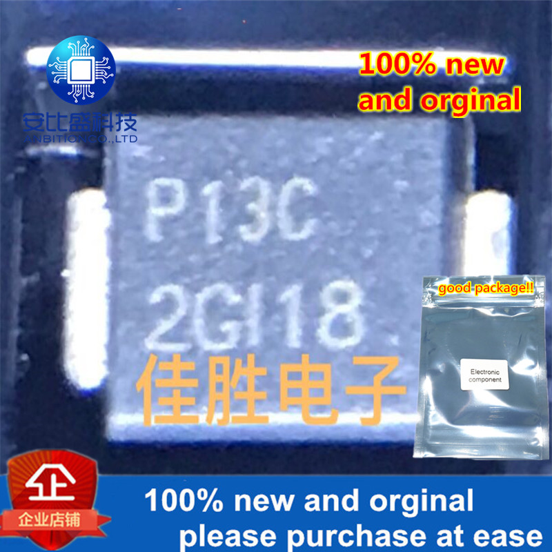 30pcs 100% New And Orginal P1300SCLRP DO214AA Silk-screen P13C  In Stock
