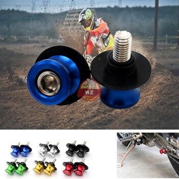 Accesorios de la motocicleta CNC aluminio M8 basculante carrete deslizante soporte tornillo para Honda CBF600/SA CBF-600 2010 11
