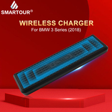 10W QI Wireless Charger Quick Charging For BMW 3 Series F30 F31 F82 F32 F34 F36 Fast Panel Phone Holder 2014 -2018
