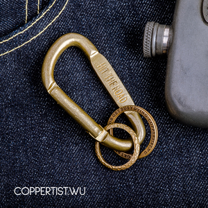 Image 4 - coppertist.wu Quick opening Clasp Brass Decorative pattern CARABINER Lobster Claw Hook Keyring Key Chain Keychain Pendant