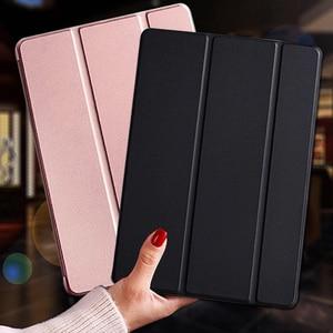 Capa de tablet para huawei mediapad t5 10 AGS2-L09/w09/l03 funda, couro pu, suporte inteligente, capa para huawei escudo protetor t5 10.1