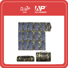 ALLPOWERS 18V100W Camouflage Color Portable Solar Charger Foldable Solar Panel for Outdoors Laptop Mobile Phone