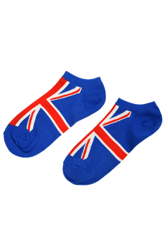 Pair Of Fashion Character British Flag Pattern Socks For Men