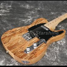 T-ER10 Custom shop TL Electric Guitar  spalted maple top vintage tuner