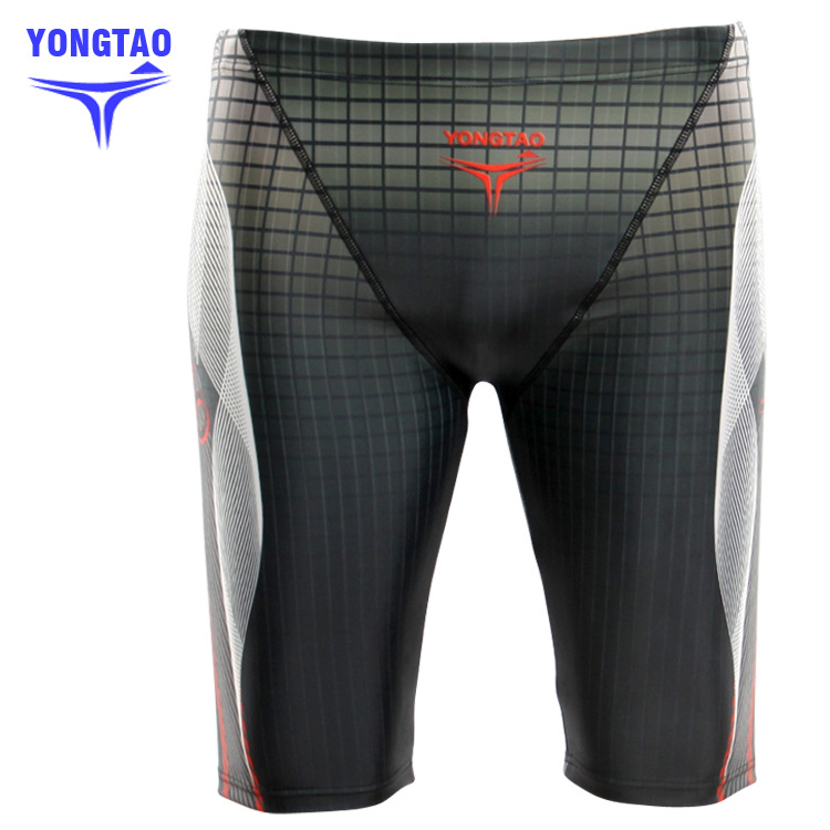 Digital Printing MEN'S Swimming Trunks 5 Knee-Length Swimming Trunks With Drainage Line Swimming Trunks Fashion Man 9693