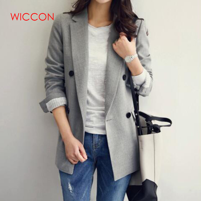 Blazers New Women Retro All-match Simple Chic Jackets Women Trendy Korean Style Ladies Elegant Daily Fashion Wear