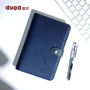 Image 4 - 2019 Notebook Diary Personal Organizer Leather Business Office Spiral Ring Binder Agenda Notebook Planner A5 A6 Stationery Gift