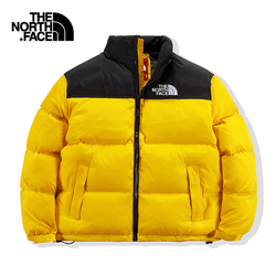 The north face-Men's oversized cotton cotton, thick warm bread jacket, high quality down jacket, general cotton jacket for coupl