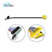 EDID Notebook LCD bildschirm code chip daten lesen linie LED LCD 2 in 1 Für RT809F RT809H TL866 II Plus programmierer