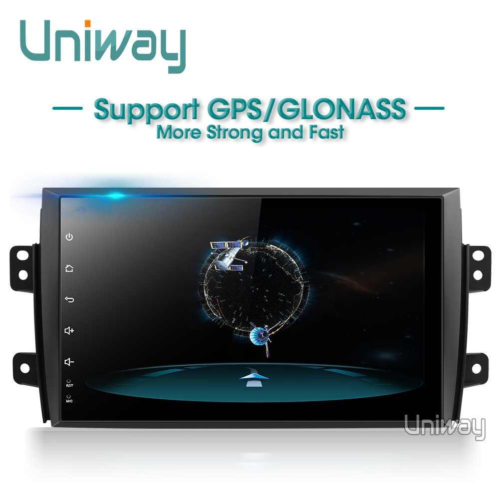 Uniway ATY9071 Android 8.1 автомобильный DVD для Suzuki SX4 2006 2007 2008 2009 2010 2011 2012 2013 автомобилей Радио gps-навигация