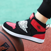 Boys Men Basketball Shoes New Brand Jordan Basketball Sneakers Outdoor Children Sport Training Shoes Non-slip Shoes Kids