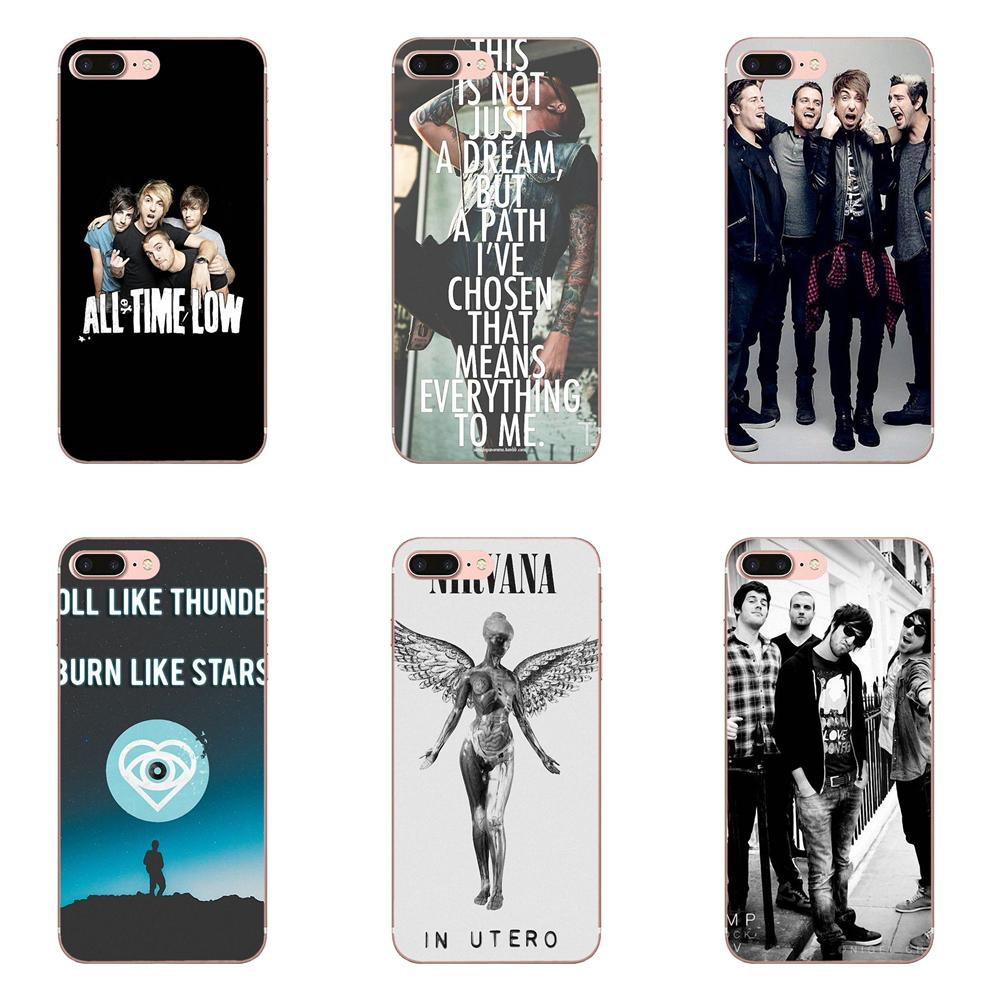 Phone Cover Case All Time Low Pop Punk Band For Sony Xperia Z Z1 Z2 Z3 Z4 Z5 compact Mini M2 M4 M5 T3 E3 E5 XA XA1 XZ Premium image