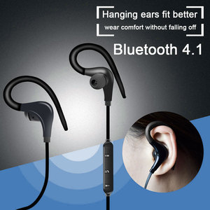 Image 3 - Auriculares deportivos, inalámbricos por Bluetooth, auriculares estéreo de gancho en la oreja BT 01 Hifi con micrófono para teléfonos Samsung, LG, Xiaomi