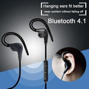 Image 3 - Sport bezprzewodowe słuchawki Bluetooth słuchawki stereofoniczne zaczep na ucho BT 01 Hifi słuchawki douszne z mikrofonem do telefonu Samsung LG Xiaomi