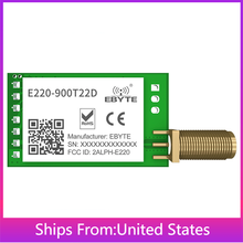 2PCS E220-900T22D LLCC68 Wireless LoRa Module 868MHz 915MHz UART 22dBm SMA-K Antenna Transmitter Integrated Circuits IoT DIY