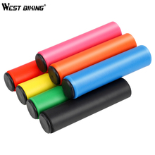 WEST BIKING Bicycle Grip Silicone Anti-slip Bike Handlebar Cover Soft Shock Absorption Mountain Road Cycling