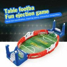 Мини Настольная доска футбол машина футбольная игрушка игра стрельба развивающие Спорт на открытом воздухе детские столы играть в мяч игру...
