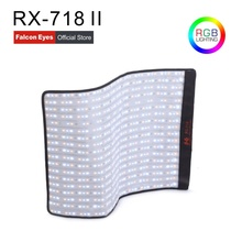 Falcon Eyes Roll-Flex Series RX-718 II 100W RGB 2700-9999K Portable LED Photo Light with DMX Flexible Photography Safety Box