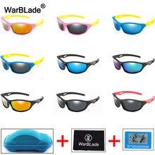 WarBlade-lunettes de soleil polarisées pour enfants, UV400, en Silicone, pour garçons et filles, avec boîte, nouvelle collection 2020