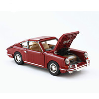 BuildMoc Supercar Racers Scale Famous brand classic Sports Car fit 42056 Technic Vehicles Building Blocks Bricks Toys gift