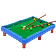 1Set Mini Desktop Pool Billiards Table Toys Board Game Balls for Kids Children Early Education Sports Toy Gifts E65D wooden billiards mini desktop billiards fun billiard game billiards