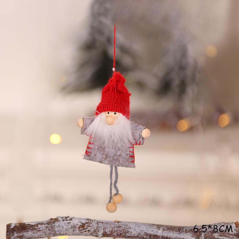 2020 New Year Gift Cute Christmas Angel Doll Xmas Tree Ornament Noel Deco Christmas Decoration for Home Natal Navidad 2019 Decor 55