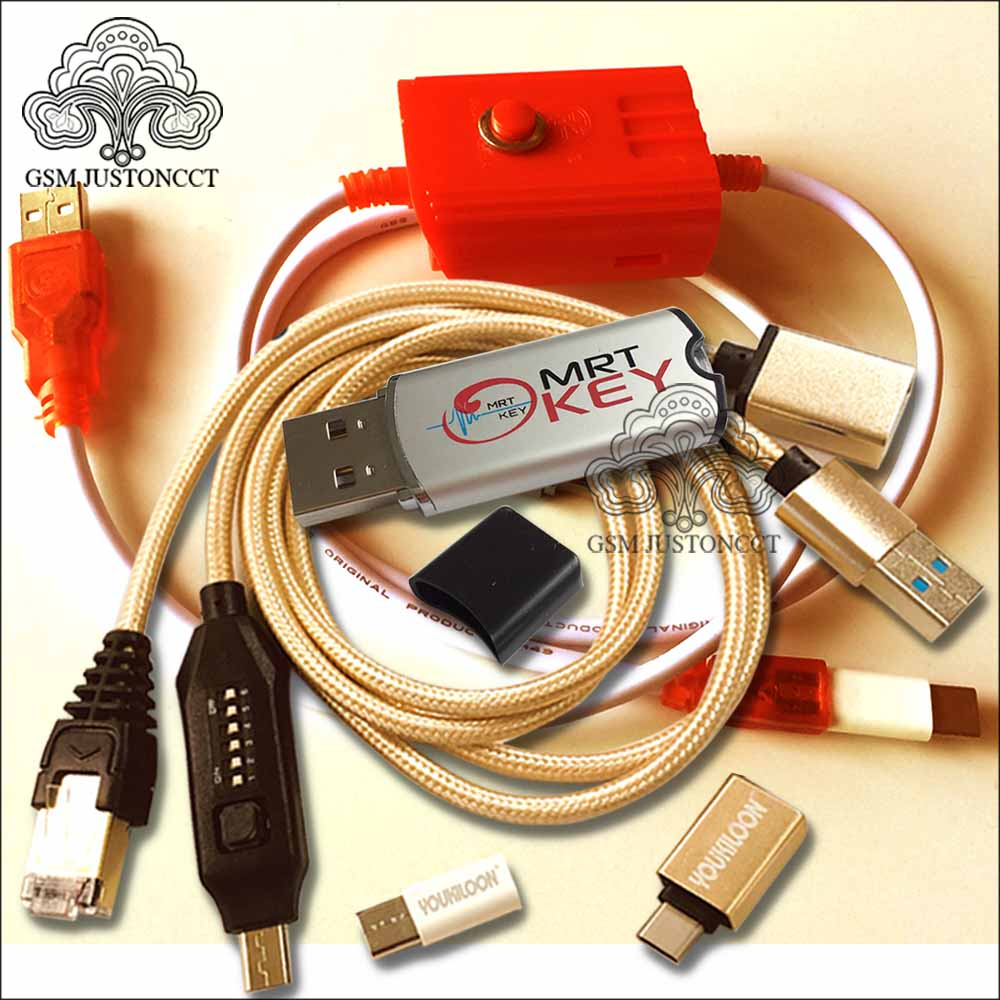 New MRT DONGLE 2 / Mrt Key 2 + Umf All In 1 Boot Cable + Edl 9008 Cable Unlock Flyme Account Remove Password Imei Repair BL