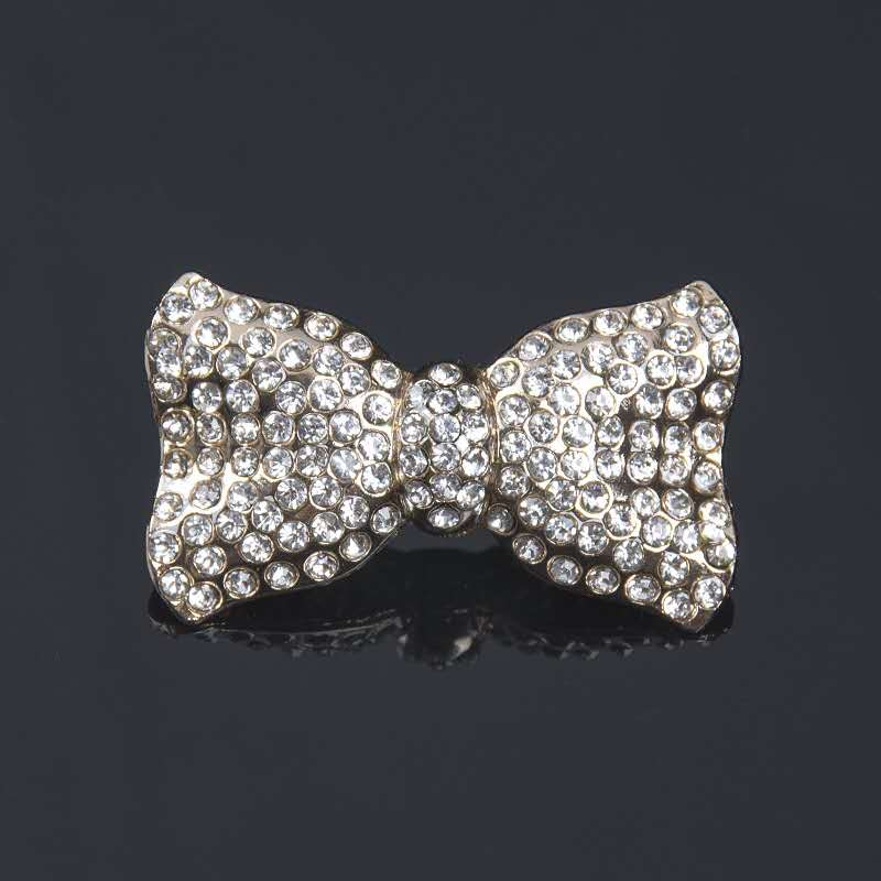 2pcs Jewelry Bowknot High Heel Rhinestones Decorations Women Shoes Clips DIY Crystal Shoe Charms Sandles Decorative Accessories