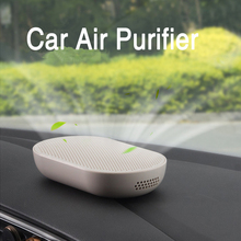 Car Air Purifier PM2.5 Formaldehyde Removing Deodorization Air Ionizer Generador De Ozono Humidificador Car Accessories Interior недорого