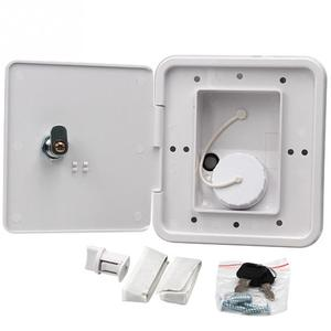 Gravity Caravan Square Hatch Cover Gravity Inlet Rugged and Leakproof Easy to Install RV Water Filler Accessories