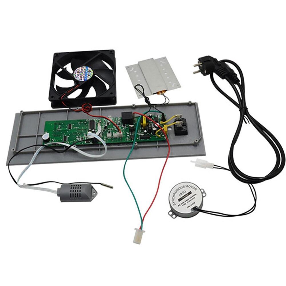 Contrôle de température chauffage humidité affichage multifonctionnel avec moteur ventilateur d'échappement Mini incubateur contrôleur ensemble d'incubation