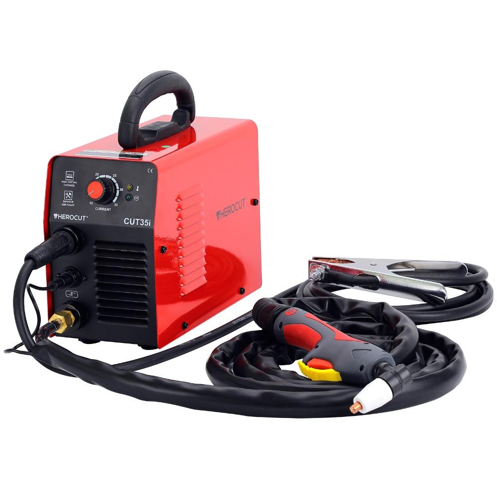 IGBT Plasma Cutter CUT35i 220V Arcsonic HeroCut Air Plasma Cutting Machine 6mm Clean Cut