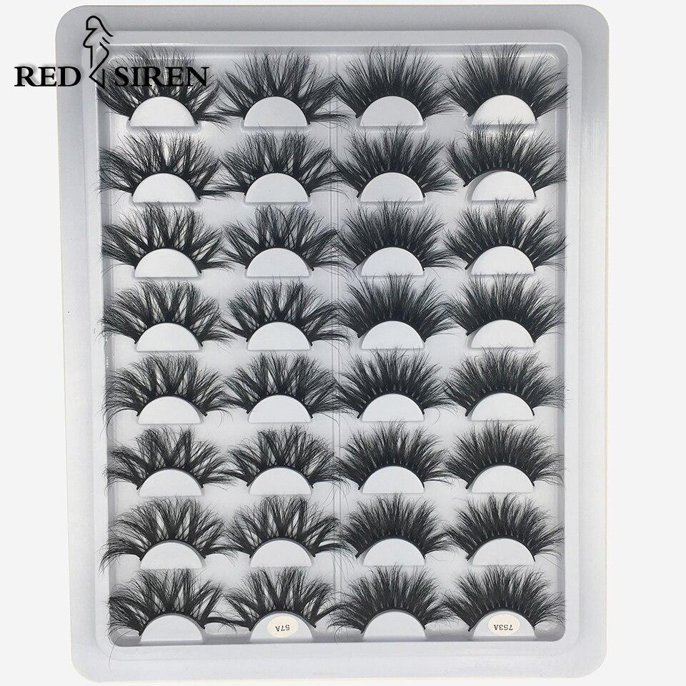 16 Pairs 25mm 3d Mink Lashes Dramatic Long Volume Fake Lashes Makeup Eyelash Extension 100% Mink Eyelashes Wholesale Eye Lashes