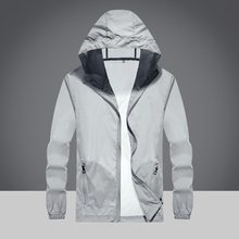 rangdyb sunscreen rainproof sports jacket women's large size loose hooded jacket summer ultra-thin clothes