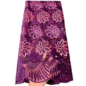 Image 3 - แอฟริกันภาษาฝรั่งเศสคำลูกไม้ผ้า Tulle คุณภาพสูงไนจีเรีย Laces ผ้า ROYAL BLUE ลูกไม้ปักผ้าตาข่ายสำหรับชุดปาร์ตี้