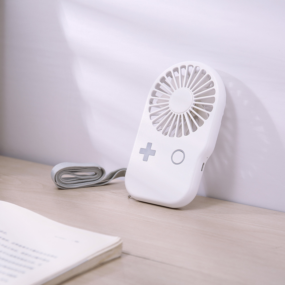 Ultra-Thin Game Console Fan Chargeable USB Mini Fan Students Large Air Blast Capacity Outdoor Portable Mini Fan