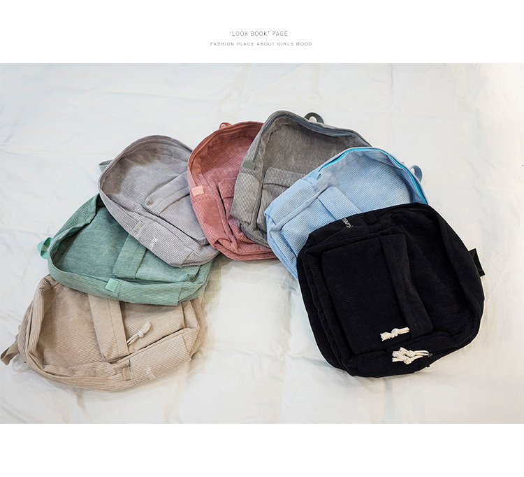 Inverno macio tecido mochila feminino veludo design