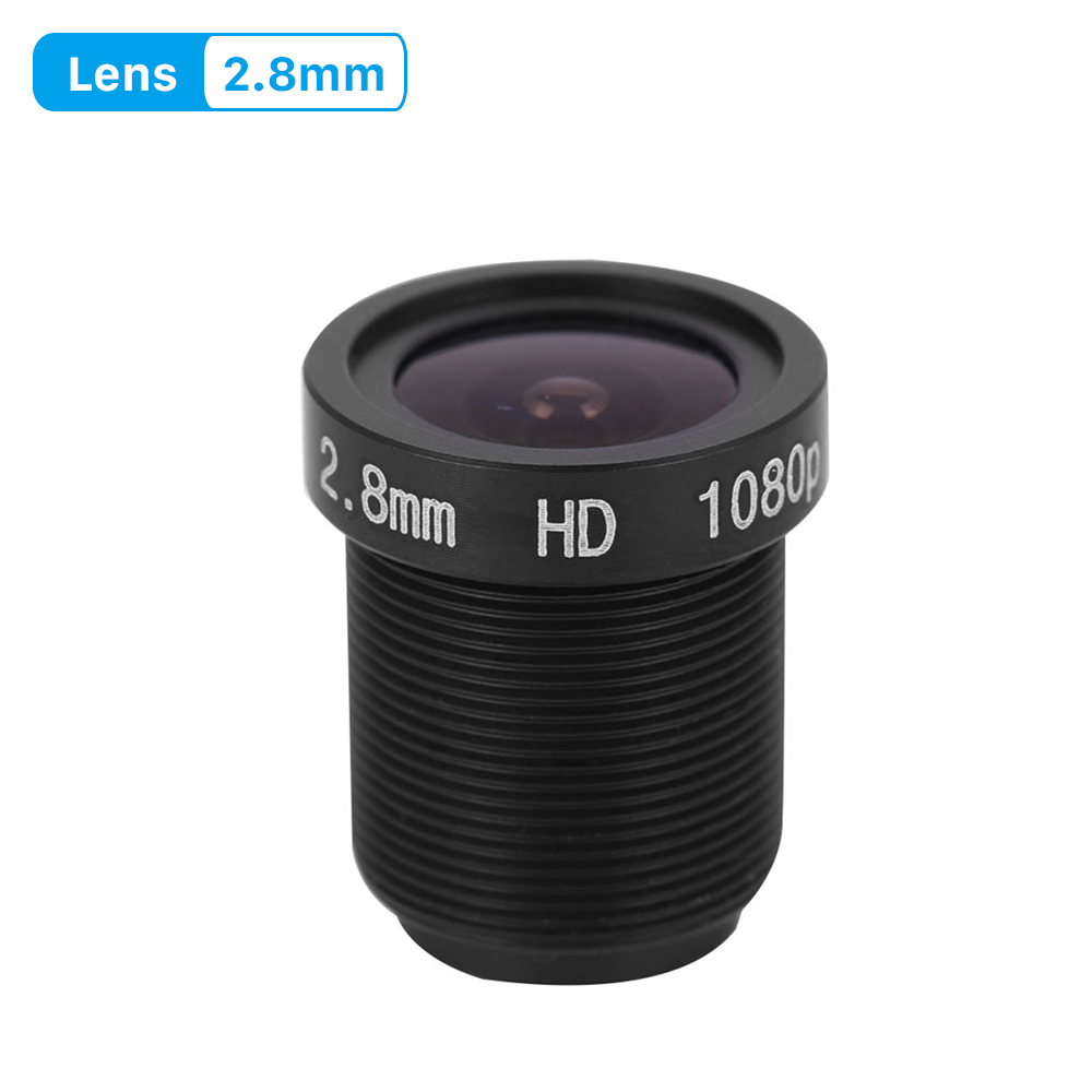 1080P lens <font><b>2.8mm</b></font> CCTV Security Camera Lens <font><b>M12</b></font> 2.0Megpaixel Aperture F1.8, 1/2.5