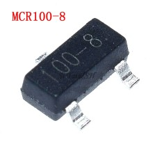 50PCS MCR100-8 SOT-23 MCR100 100-8 SOT23 SOT SMD new and original IC Chipset