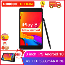 Alldocube iPlay 8T 8 cali 3GB RAM 32GB ROM tablety telefoniczne Android 10.0 dzieci Tablet PC 4G WIFI LTE 9832E phonecall iPlay8T