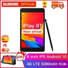 Alldocube iPlay 8T 8 inç 3GB RAM 32GB ROM telefon Tablet Android 10.0 çocuklar Tablet PC 4G WIFI LTE 9832E telefon iPlay8T