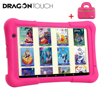 Dragon Touch Y80 Kids Tablet 8 inch HD Display Android 9.0 Tablets for Children 16GB Quad core 1.5GHz USB Android 8.1 tablet PC 10 1 inch official original 4g lte phone call google android 7 0 mt6797 10 core ips tablet wifi 6gb 128gb metal tablet pc