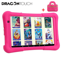 Y80 Kids Tablet 8 inch HD Display Android 9.0 Tablets for Children 16GB Quad core 1.5GHz USB Dragon Touch Android 8.1 tablet PC|Tablets| |  -
