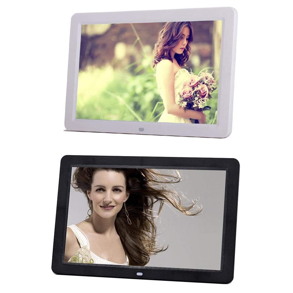 Marco de fotos Digital de 12 pulgadas, pantalla de 1280x800, 32GB, marco de fotos inteligente, Control remoto, álbum electrónico de vídeo de imagen de función completa|Marco de foto digital|   -