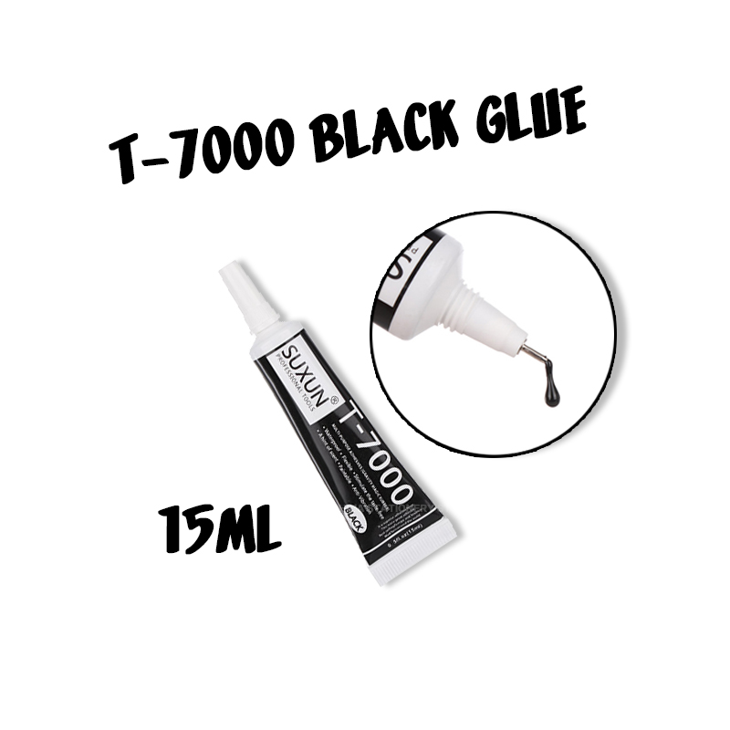 T7000 15ml Multifunctional Glue DIY Mobile Phone Screen Frame Epoxy Sealant Super Black Liquid Glue T-7000 Nail Polish