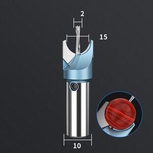 Image 4 - 6mm 16mm frez frez koraliki buddy Ball nóż narzędzia do obróbki drewna 10mm Shank drewniane koraliki wiertła