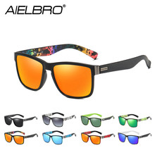 New Polarized Vintage Sunglasses Sets Mens Sun Glasses Men Square Shades Driver Women Oculos Male Gafas Ciclismo