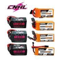 CNHL RC Lipo 2S 4S 5S 6S 7,4 V 14,8 V 18,5 V 22,2 V batería 1100mah 1300mah 1500mah 1800mah 70C 100C 120C con XT60 Deans T para FPV